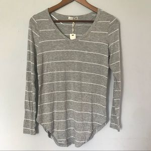 🌵NWT Cotton On : Grey Striped Long Sleeve Top